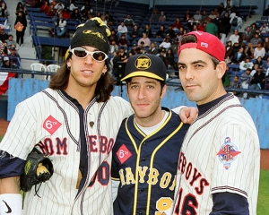 Dan Cortese (left)