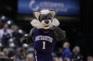 Northwestern's mascot will never make the NCAA Tournament, so here's to Willie the Wildcat.